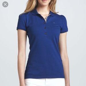 Burberry Brit Royal Blue Cotton Polo
